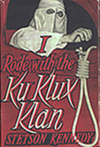 "The name really was ""The Klan Unmasked"", published in 1954"